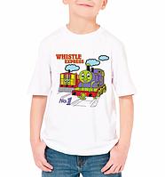 "Детская футболка ""Whistle express"""