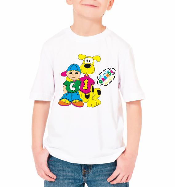 """Детская футболка """"Мальчик с собачкой"""""""