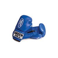 Перчатки для кикбоксинга Green Hill Zees WAKO KBZ-2062  (10 oz) синие