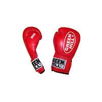 Перчатки для кикбоксинга Green Hill Zees WAKO KBZ-2062  (12 oz) красные