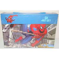 """Набор для детского творчества """"Spider-man"""" (68 предметов) чемодан"""