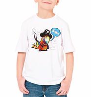 """Детская футболка """"Пиратский попугай"""""""