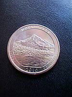"25 центов 2010 США ""Маунт-Худ"" (Mount Hood) 5-й парк"
