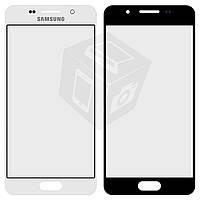 Защитное стекло корпуса для Samsung Galaxy A3 (2016) A310, белое, оригинал