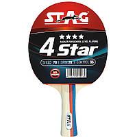 Ракетка для настольного тенниса Stag 4Star (354)