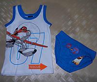 Комплект нижнего белья для мальчиков Planes 2/3-7/8 лет, фото 1