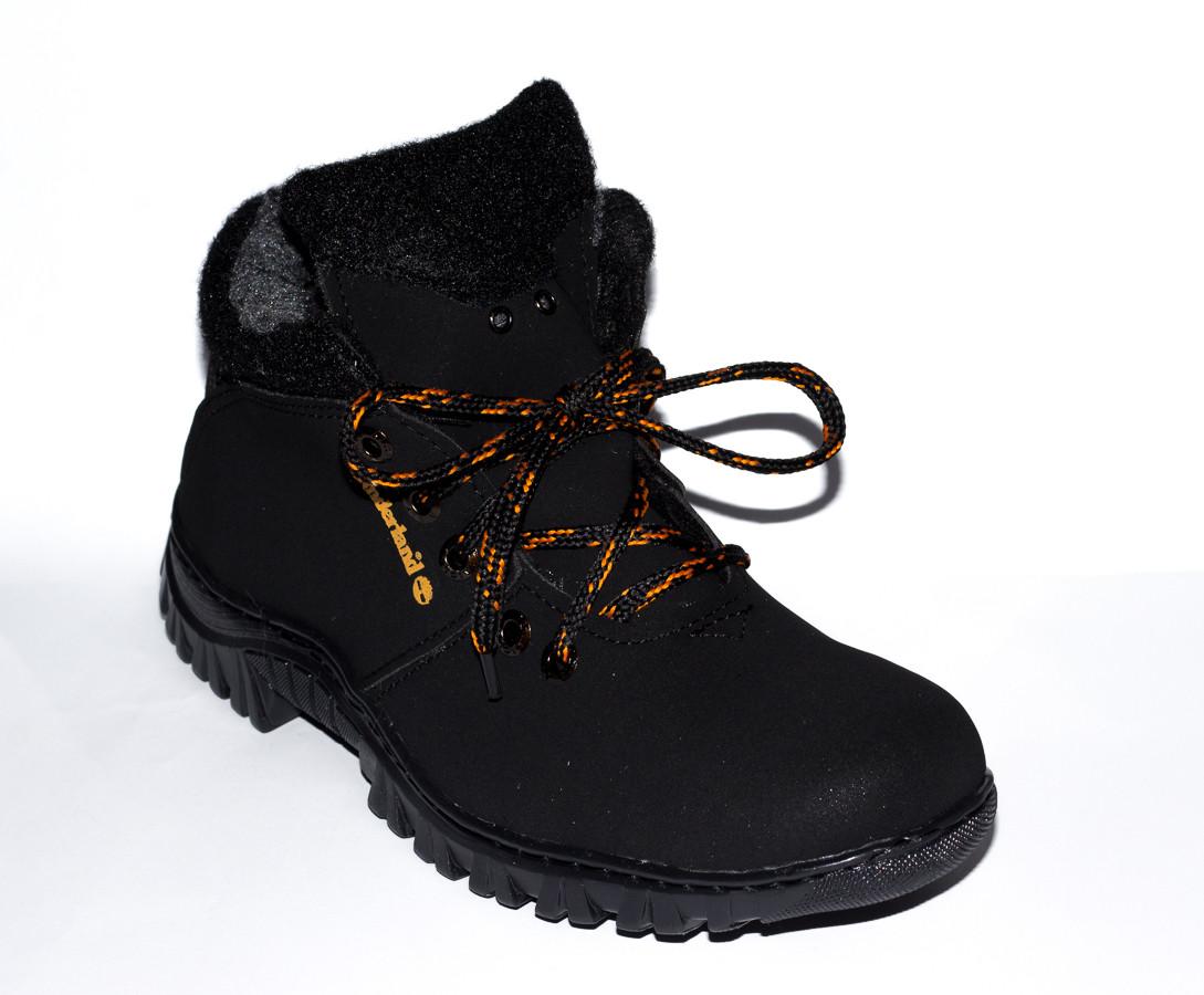 Мужские зимние ботинки на меху типа Timberland 40-45 размер (реплика), недорогие ботинки, ботинки тимберленд