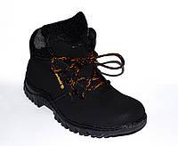 Мужские зимние ботинки на меху типа Timberland 40-45 размер (реплика), недорогие ботинки, ботинки тимберленд, фото 1