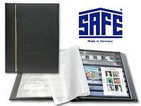 Кляссер SAFE Luxus - натуральная кожа - 32 страницы - A4