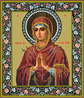 Схема для вышивки бисером Умягчение злых сердец икона Божией Матери