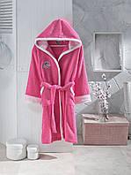 Детский халат ALTINBASAK розовый 14-16 лет.