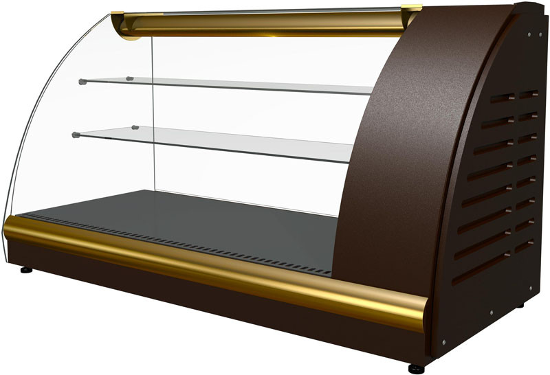 Витрина холодильная Полюс ВХС-1,2 XL Арго Люкс