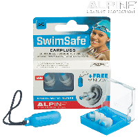 Беруши для плавания Alpine SWIMSAFE, 1 пара