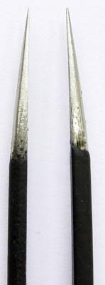 Пинцет прямой для наращивания и коррекции  ресниц mART