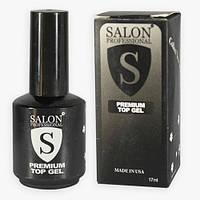 Верхнее завершающее покрытие Premium Top Gel (без липкого слоя)  Salon Professional  17мл