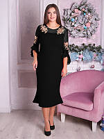 Стильное вечернее женское платье №1823