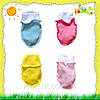 Царапки для новорожденных с начесом
