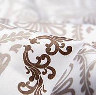 Ткань постельная 131724 Сатин (ПАК) НАБ.МОНАКО 3605-Р GREY 220СМ