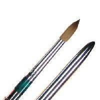 Кисти для моделирования акриловых ногтей. Натуральный ворс колонок. №6,8 10 Пр-во Юж. Корея YRE