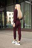 Женский стильный повседневный костюм: кофта и брюки (3 цвета), фото 4