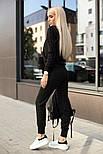 Женский стильный повседневный костюм: кофта и брюки (3 цвета), фото 6