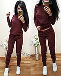 Женский стильный повседневный костюм: кофта и брюки (3 цвета), фото 8