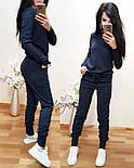 Женский стильный повседневный костюм: кофта и брюки (3 цвета), фото 10