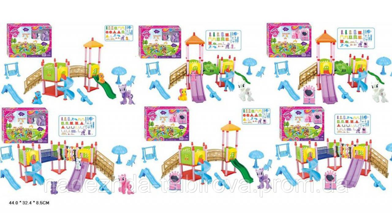 Игровой набор My Little Pony (Мой маленький пони) - Детская площадка для  Пони и dbe0146abdc