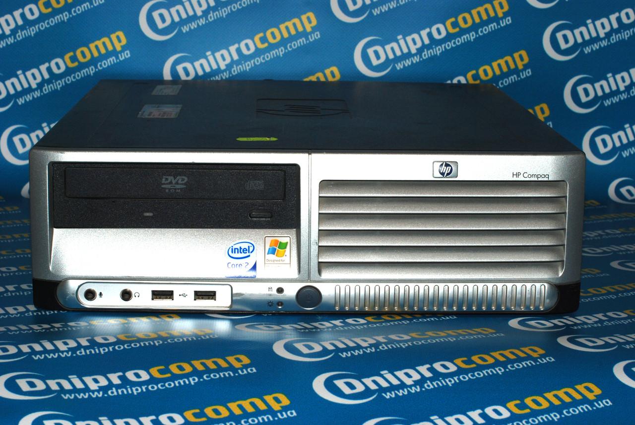 Компактный офисный пк HP dc7600