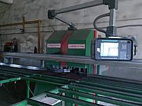 Продам автоматическую сварочно-зачистную линию для производства металлопластиковых окон. б.у.
