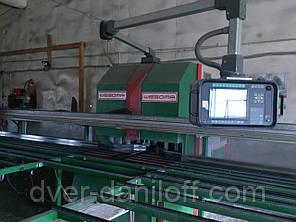 Продам автоматическую сварочно-зачистную линию для производства металлопластиковых окон. б.у., фото 2