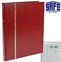 Альбом для марок SAFE - 32 страницы - А4 - белые страницы