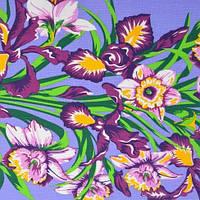 Ткань полотенечная вафельная набивная арт.130898 (ЗИН) 1589-1 40СМ