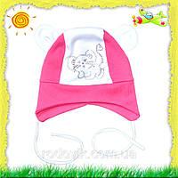 Демисезонная шапочка для девочки в ассортименте