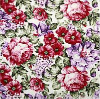 Ткань цветы для штор