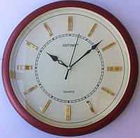 Часы настенные GOTIME GT-2832WS 28 см. плавный ход, тихий механизм