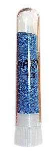 Бисер для дизайна ногтей (бульонки), цвет - синий