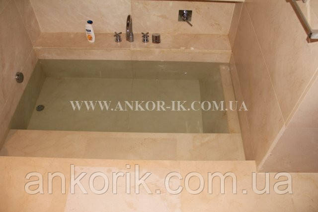 Ванные комнаты из мрамора и гранита