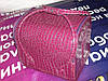 """Бьюти-кейс. сумка для мастеров индустрии красоты  Цвет -  """"фуксия"""", лаковый"""