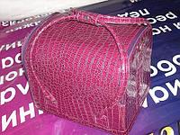 """Бьюти-кейс. сумка для мастеров индустрии красоты  Цвет -  """"фуксия"""", лаковый, фото 1"""
