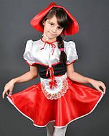 Новогодний костюм Красная Шапочка возраст 3-13 лет S762
