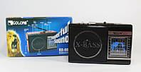 Радиоприемник аналоговый Golon RX-081: AM/FM.TV/SW1-6, разъем USB/SD для флеш-карт, LED фонарь, ремешок