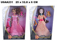 "Кукла 30см BLD032 ""Descendants"" с аксес.2в.кор.25*6*33 ш.к./72/"