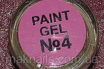 Гель фарба для нігтів SP 004 ліловий