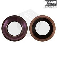 Стекло камеры для Apple iPhone 6S, оригинал, розовое
