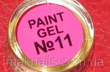 Гель фарба для нігтів SP 011 рожевий (барбі)