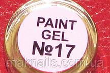 Гель фарба для нігтів SP 017 блідо-рожевий