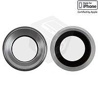 Стекло камеры для Apple iPhone 6S, оригинал, серебристое