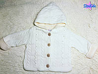 Тёплая  курточка-свитер (12, 18 мес)