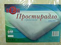 Простынь на резинке 160*200 ТЕП 100% хлопок